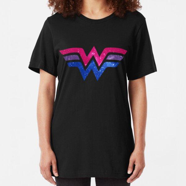 Wonder Pride - Bisexual Slim Fit T-Shirt