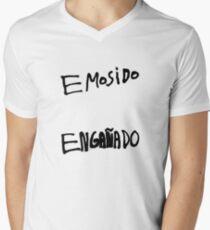 Emosido Engañado Men's V-Neck T-Shirt