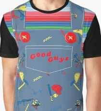 Good Guys Child's Play Chucky - Killer Doll Overalls Graphic T-Shirt