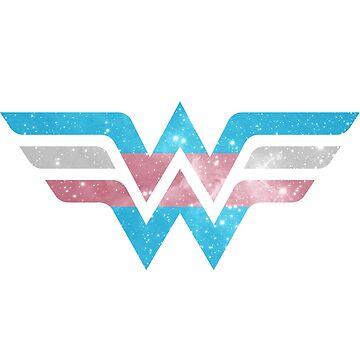 Wonder Pride - Trans by barflybart