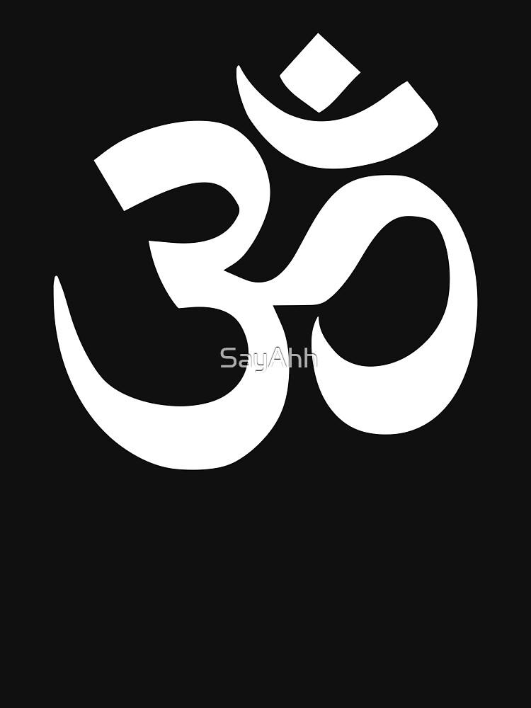 Om - Yoga / Meditation Shirt by SayAhh