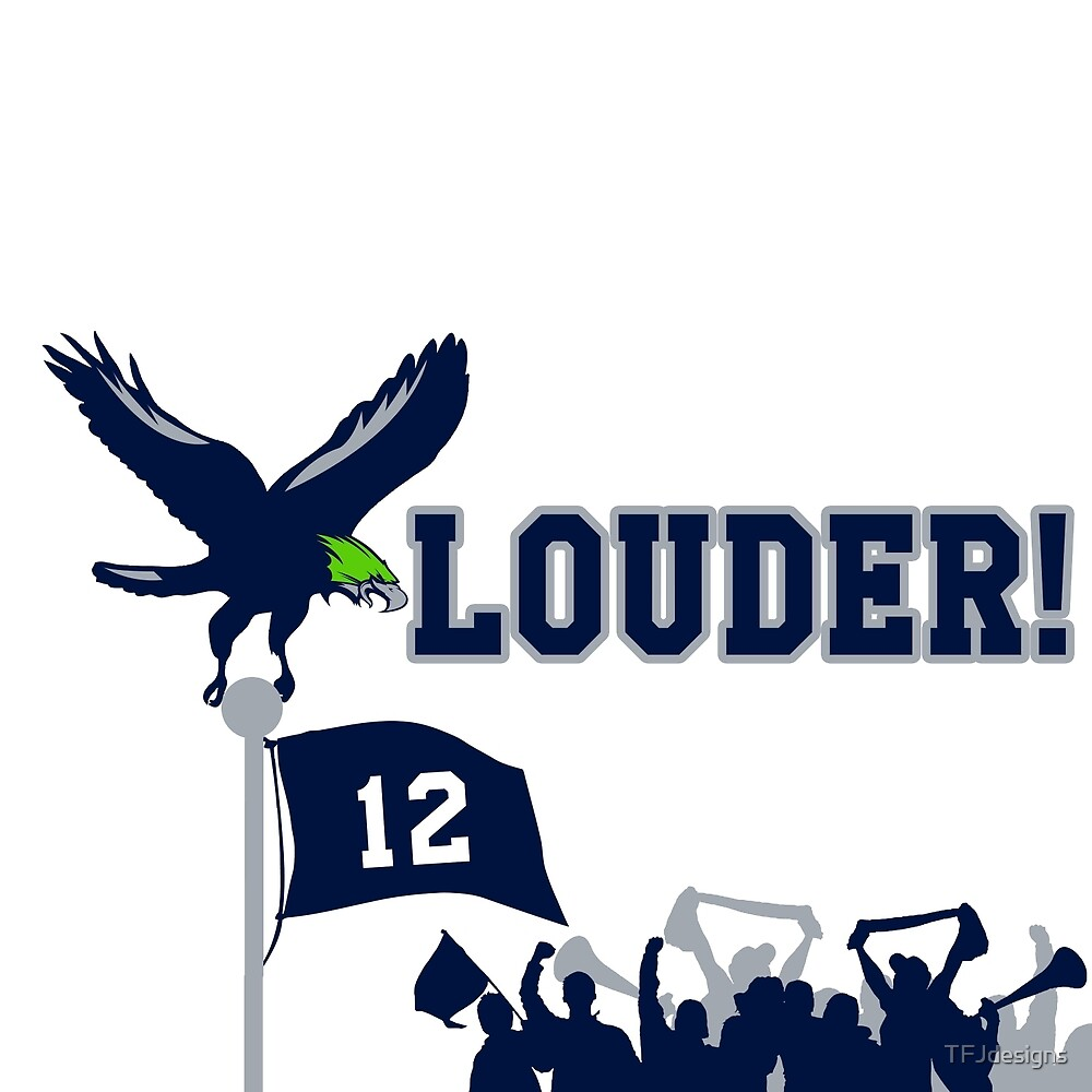 The 12th Fan is with you!  Go Hawks! by TFJdesigns
