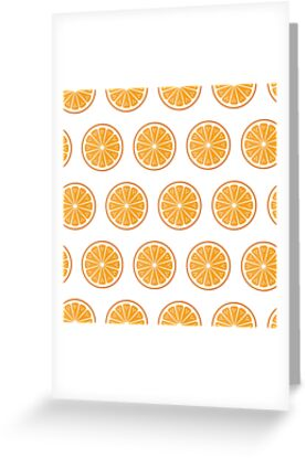 Oranges on white by reneesillus