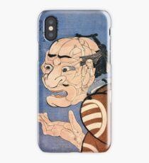 At first glance he looks very fiarce, but he's really a nice person Utagawa Kuniyoshi iPhone Case/Skin