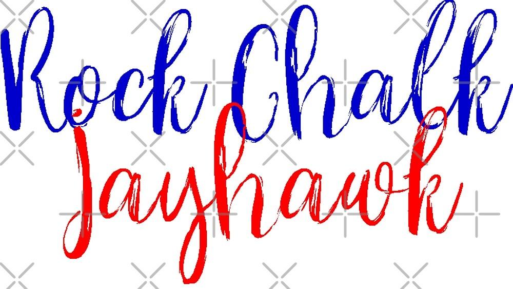 Rock Chalk Jayhawk by Jayhawkgirl