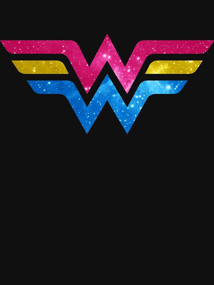 Wonder Pride - Pansexual by barflybart