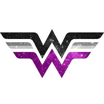 Wonder Pride - Asexual by barflybart