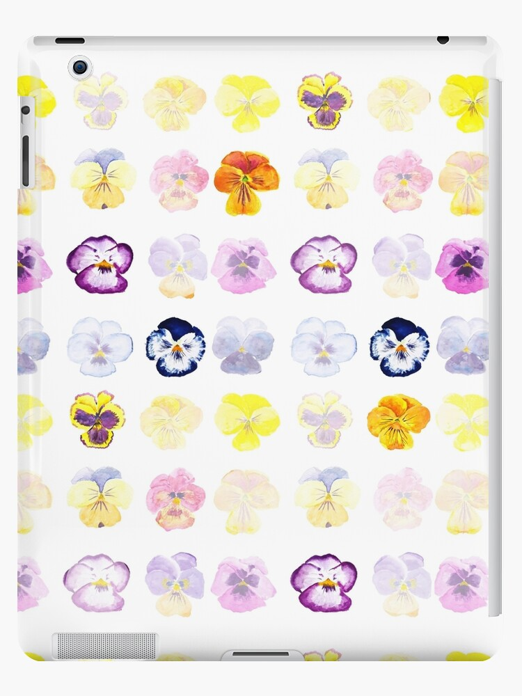 pansy pattern  by ColorandColor
