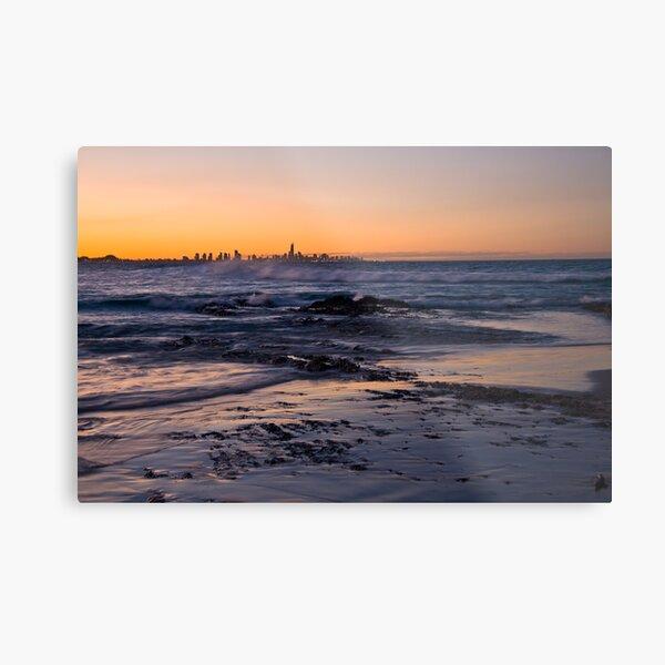 Currumbin Sunset Metal Print