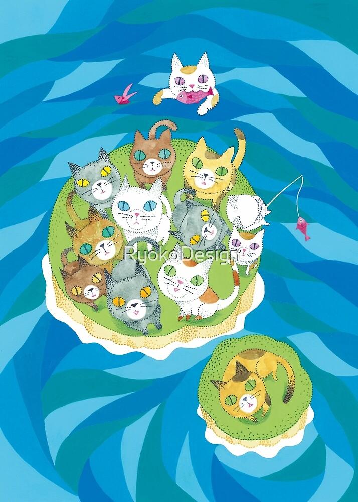 Cat island by RyokoDesign