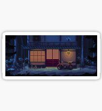 Night - A Pixel Art Adventure Background Sticker