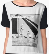 Pilates of the Caribbean Women's Chiffon Top