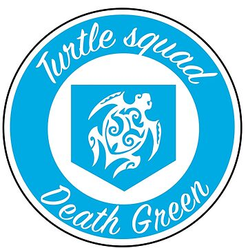Turtle Squad Blue Logo by deathgreen