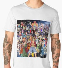 Anime mix Men's Premium T-Shirt