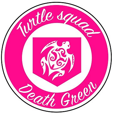 Pink Turtle Squad Logo by deathgreen