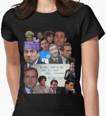 Michael Scott World's Best Boss Women's Fitted T-Shirt