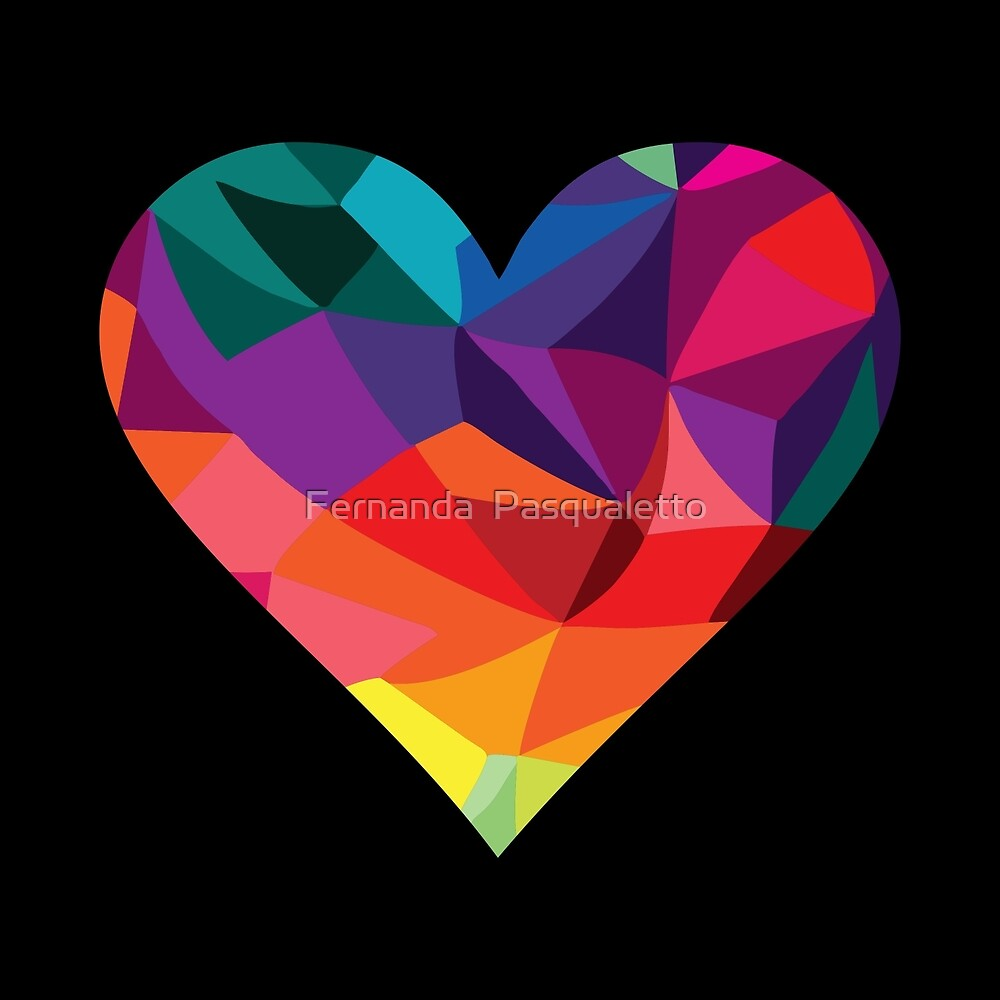 Geometric Heart by panapoo