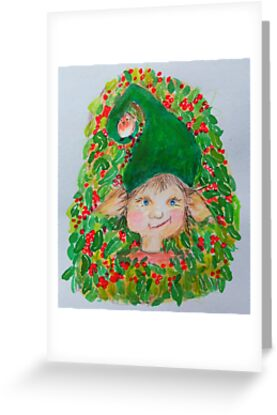 Holly ElfChristmas Elf by May Nisbet