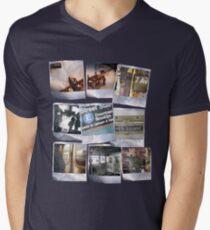 Polaroids Men's V-Neck T-Shirt