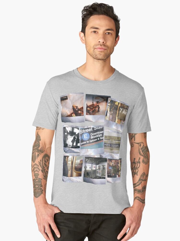Polaroids Men's Premium T-Shirt Front