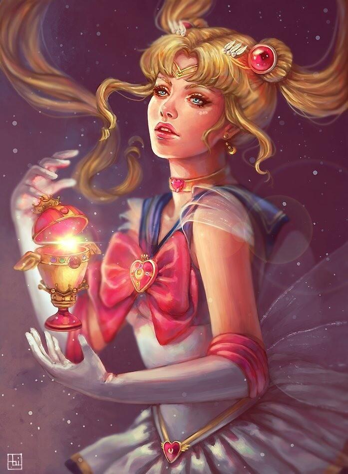 Sailor Moon by Shani Michaeli