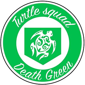 Green logo turtle squad by deathgreen