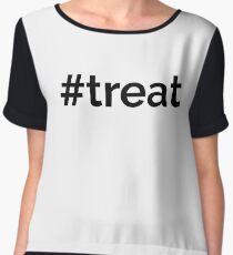 Trick or Treat? #TREAT! Chiffon Top