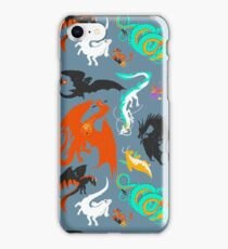 A flight with Dragons iPhone Case/Skin