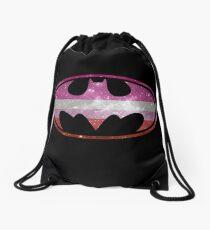 Bat Pride - Lesbian Drawstring Bag
