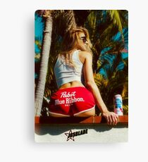 Beach Girl ★ Canvas Print