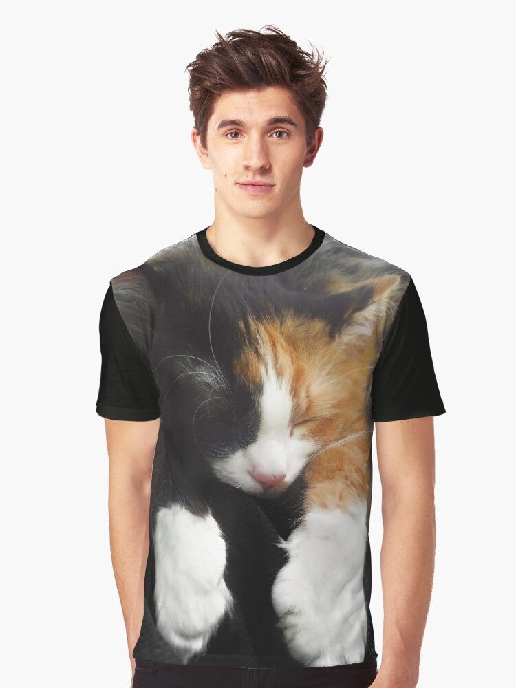 Paws Graphic T-Shirt Front