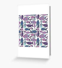 Groovy Fish Greeting Card