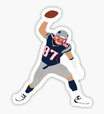 Gronk Spike Sticker