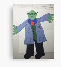 Dr Bunsen Honeydew Canvas Print