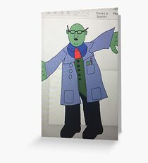 Dr Bunsen Honeydew Greeting Card