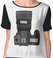 Camera Women's Chiffon Top