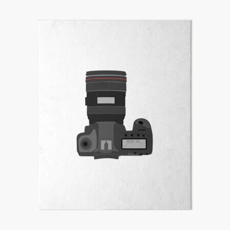 Camera Art Board Print