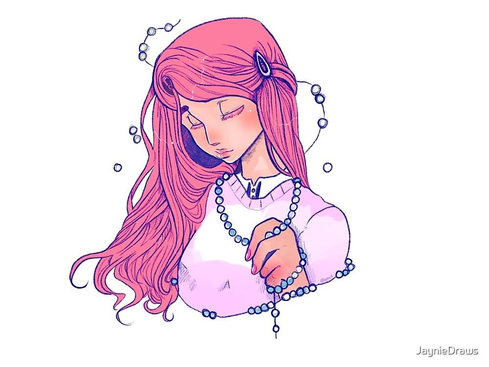 Necklace by JaynieDraws