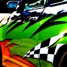 Modified sports car  (2008) by Darren Robertson