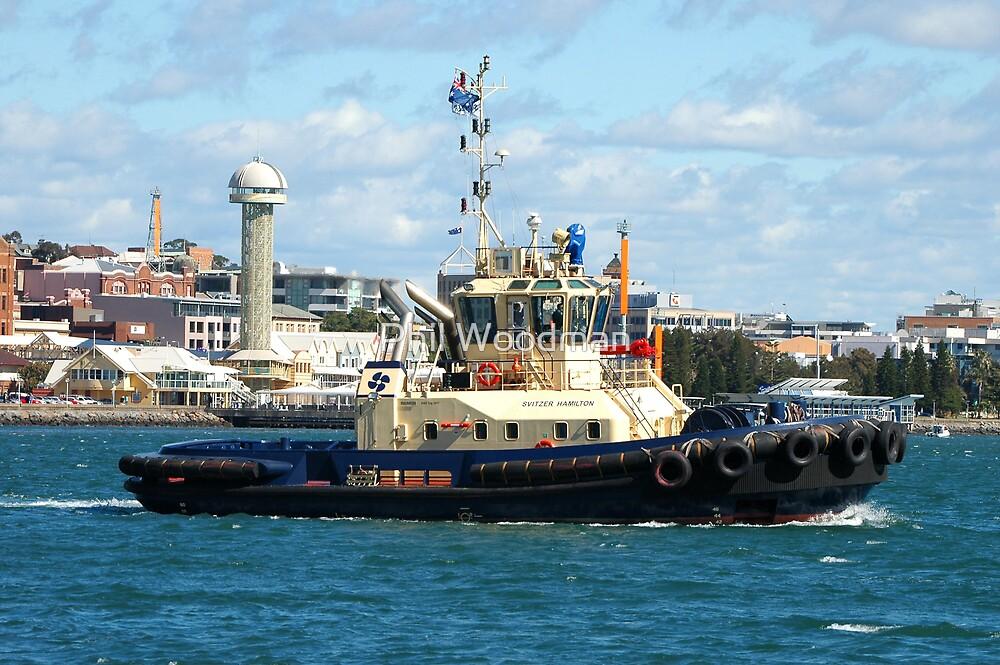 Newcastle Harbour - Switzer Hamilton Tug Boat