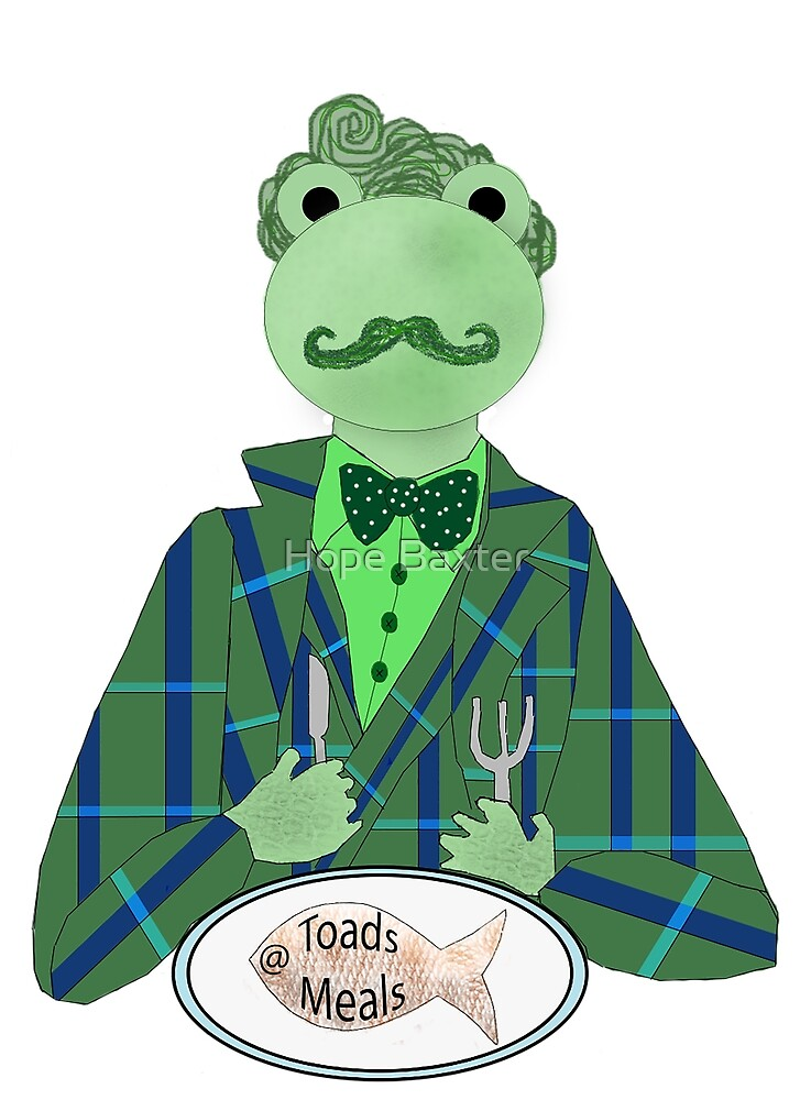 Toads Meals [Wind in the Willows] by Hope Baxter
