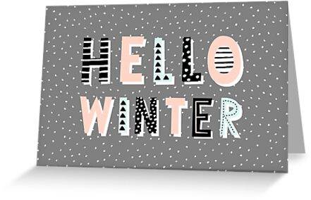 Hello Winter by Iveta Angelova