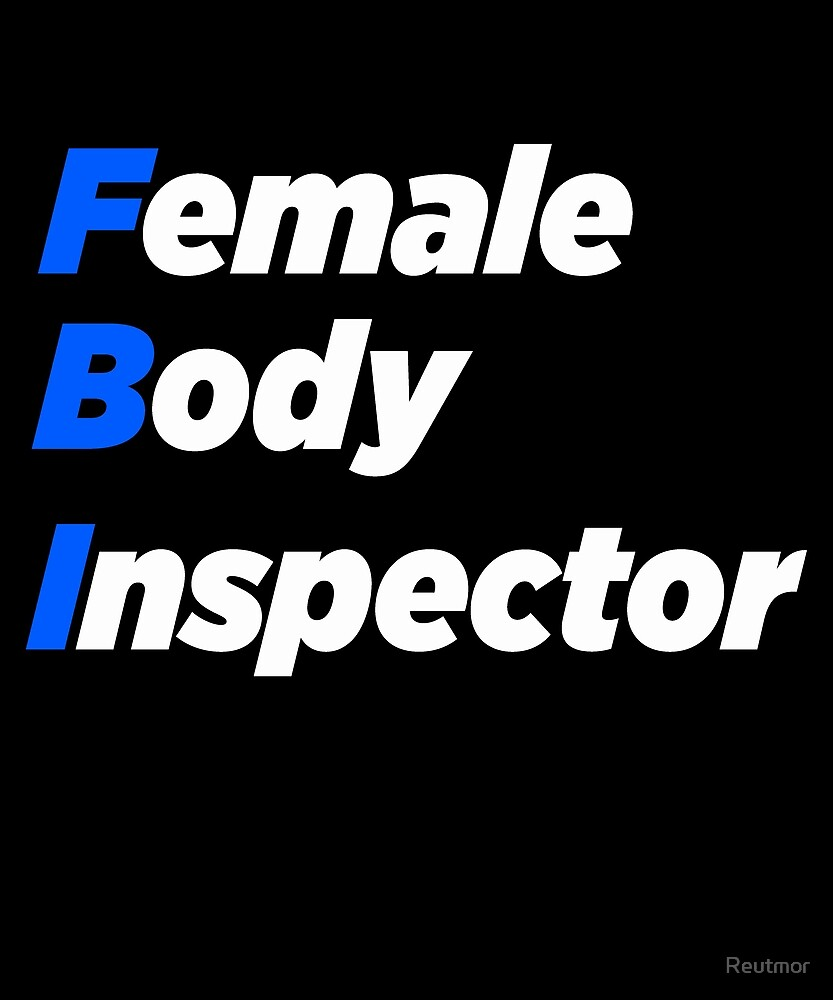 FBI female body inspector by Reutmor