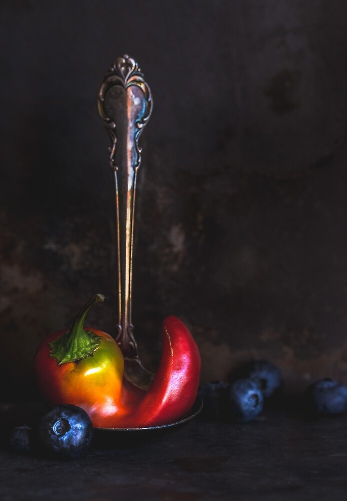 Spooning with a Pepper by alan shapiro