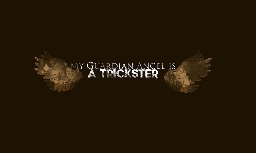 "Supernatural Gabriel ""My Guardian Angel is a Trickster"" by Julie LaRue"