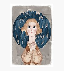 Joan of Arc - voices Photographic Print