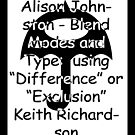 Photoshop Exclusion Demonstration by Keith Richardson