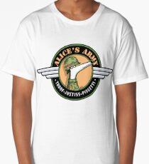 Alice's Army! (profits to Greyhound Adoption Program New South Wales) Long T-Shirt