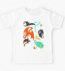 A flight with Dragons Kids Clothes