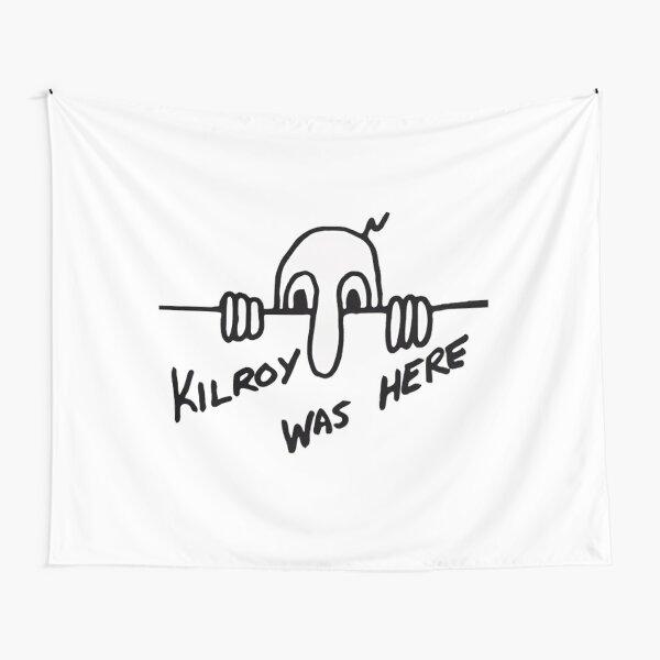Kilroy estuvo aquí Tela decorativa